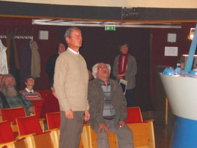 Schlosser und Prof. Reichstein