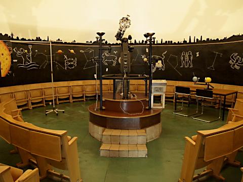 Planetarium - Innenraum