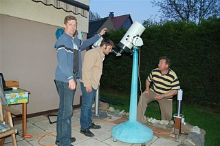Beobachtungsabend bei Detlef Fliege 04.05.2006