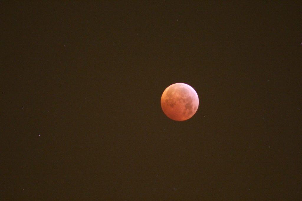 Mondfinsternis am 21.01.2019