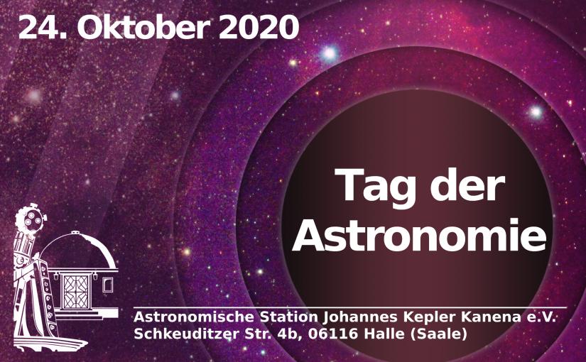 Tag der Astronomie – 24. Oktober 2020
