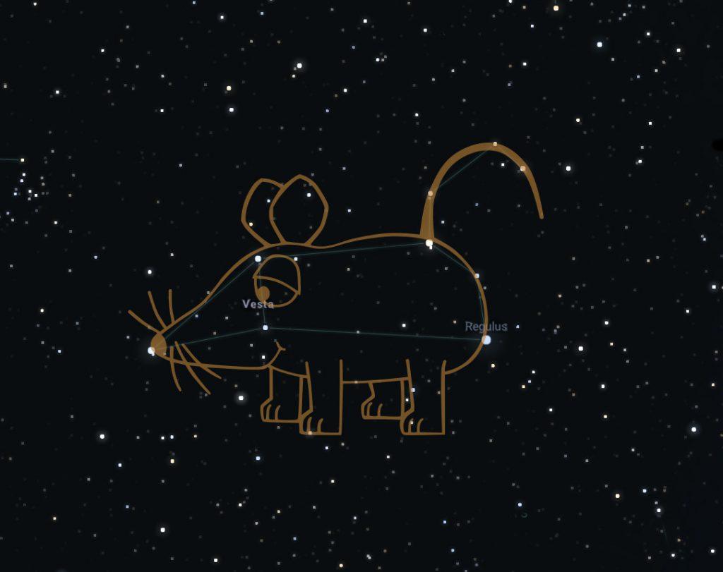 Die WDR-Maus am Sternenhimmel