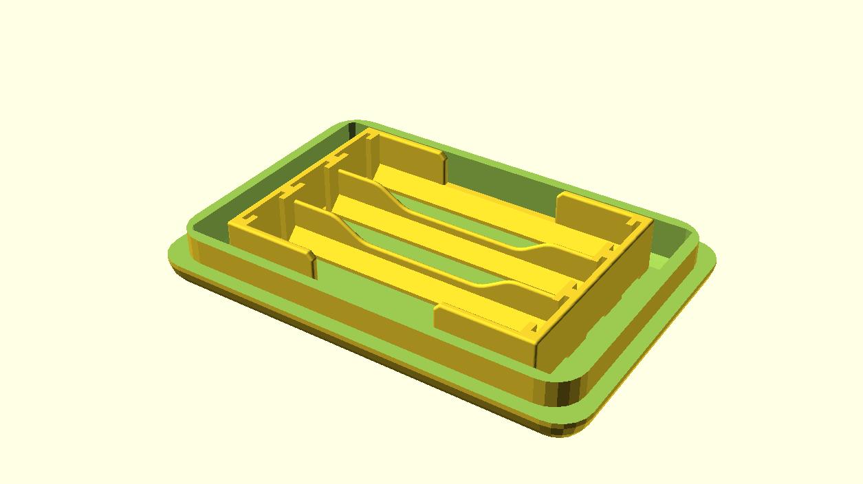 3D Modell Deckel