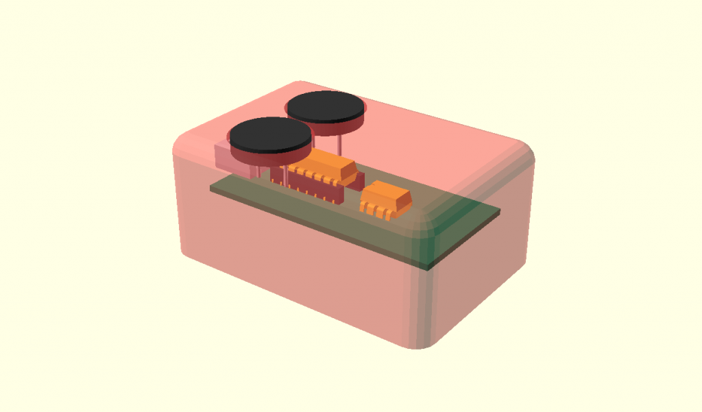3D Modell Gehäuse