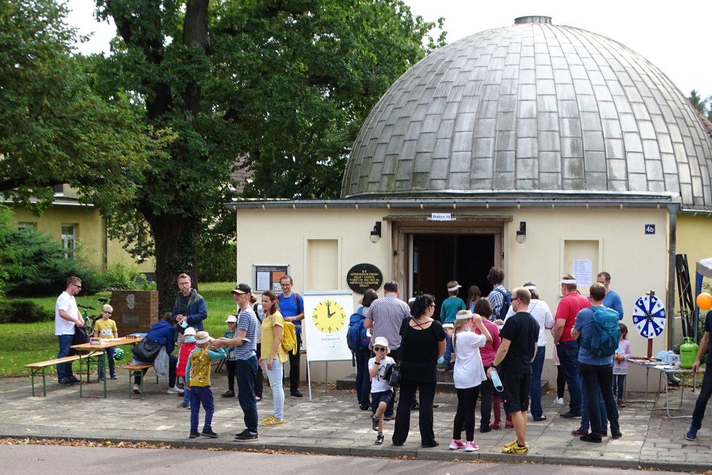 Maus-Türöffner-Tag: Einlass ins Planetarium